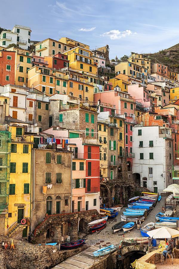 Riomaggiore Photograph - Riomaggiore by Joana Kruse