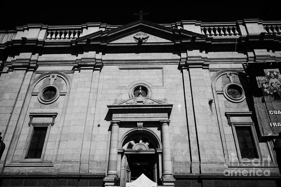 Santiago Photograph - Santiago Metropolitan Cathedral Chile by Joe Fox