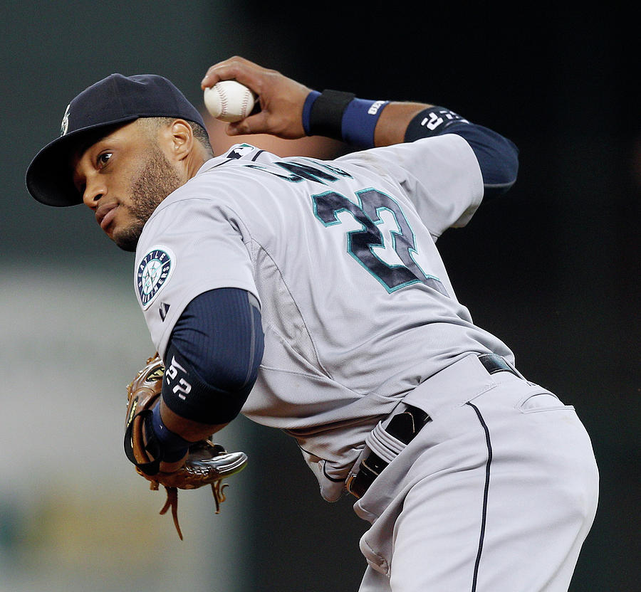 Seattle Mariners V Houston Astros Photograph by Bob Levey