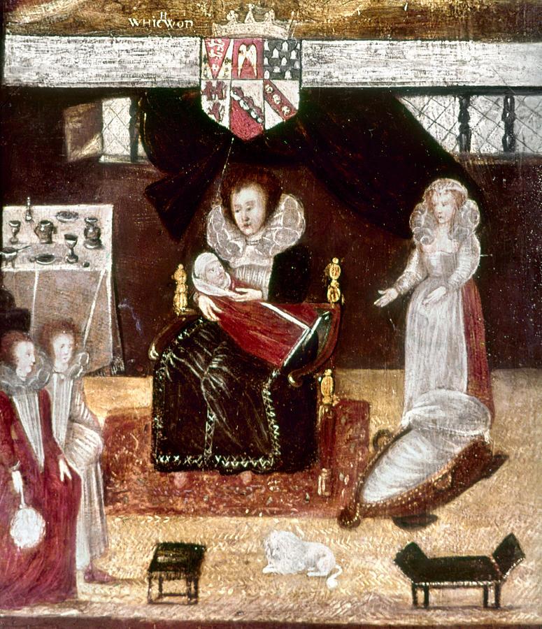 1596 Painting - Sir Henry Unton (c1557-1596) by Granger