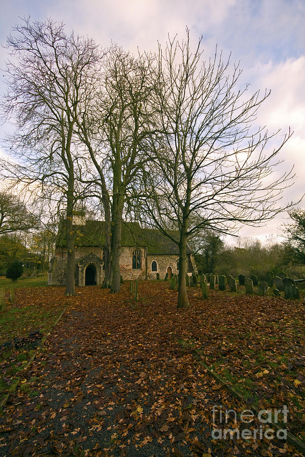 St Margaret Of Antiochs Photograph - St Margaret Of Antiochs Church Linstead by Darren Burroughs
