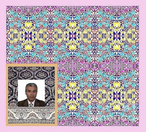 Surface Pattern Design Digital Art by Mohammad Safavi naini