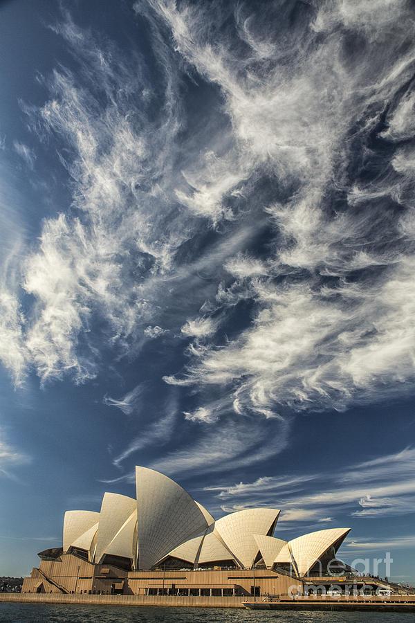 Sydney Opera House Photograph - Sydney Opera House by Sheila Smart Fine Art Photography