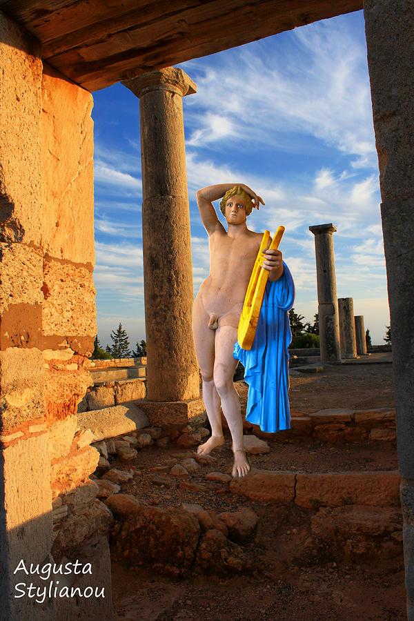 Art Digital Art - Temple Of Apollo  by Augusta Stylianou