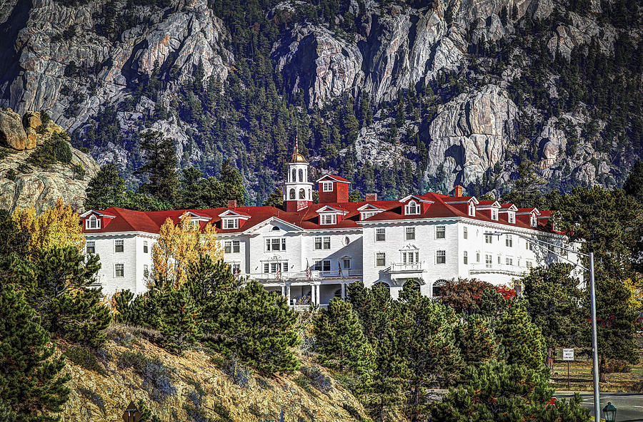 Stanley Hotel Photograph - The Stanley Hotel by G Wigler