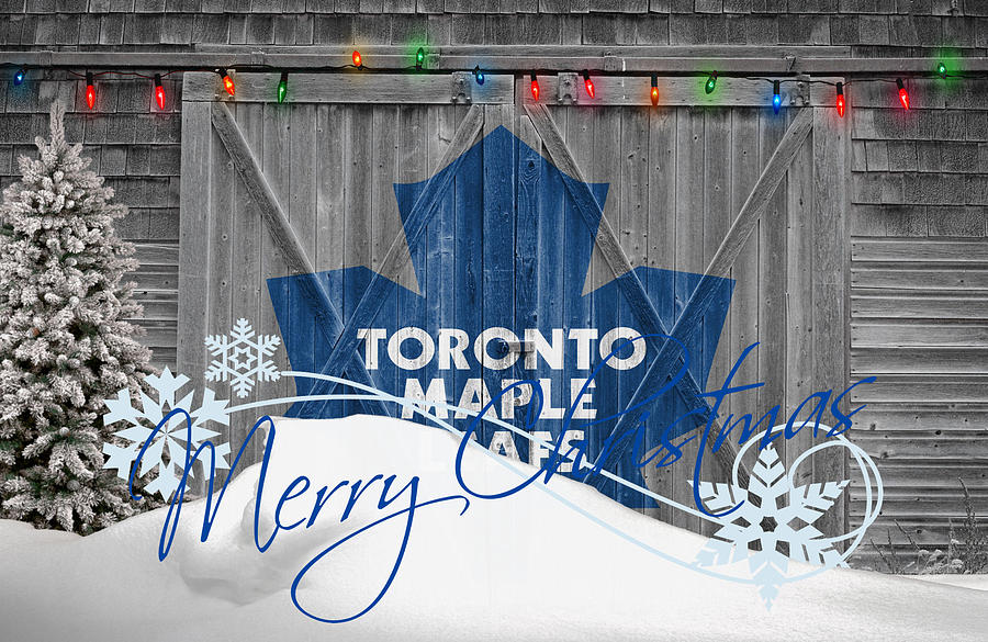 Maple Leafs Photograph - Toronto Maple Leafs by Joe Hamilton