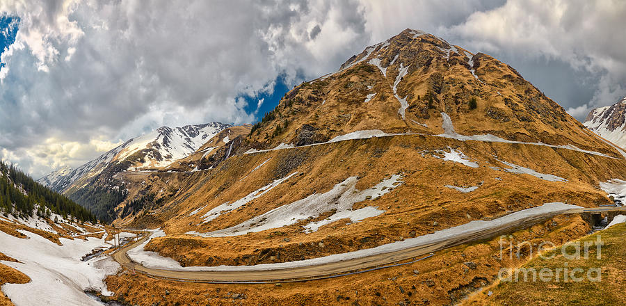 Romania Photograph - Transfagarasan Highway by Gabriela Insuratelu