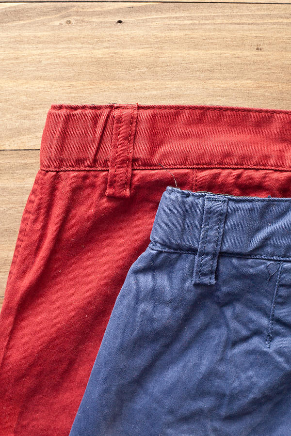 Apparel Photograph - Trousers by Tom Gowanlock