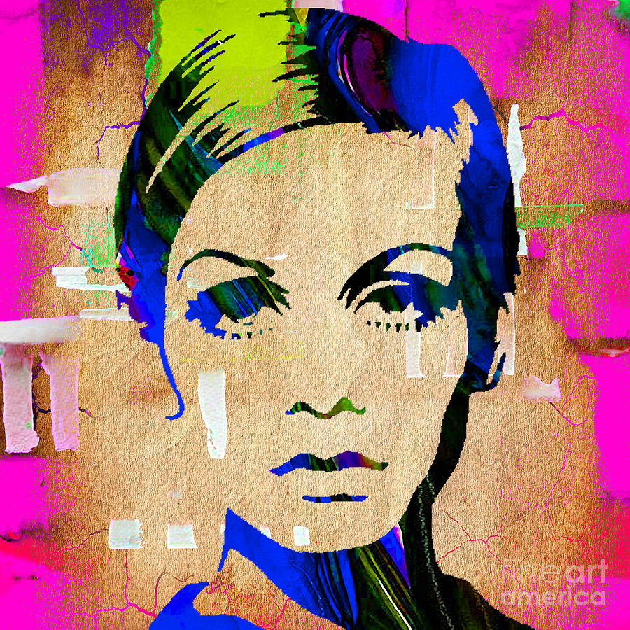 Twiggy Collection Mixed Media by Marvin Blaine