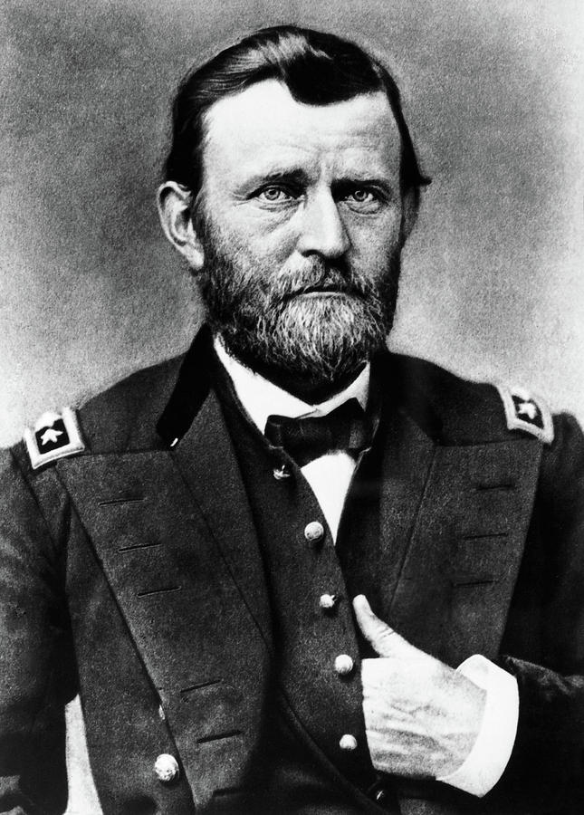 1864 Photograph - Ulysses S by Granger