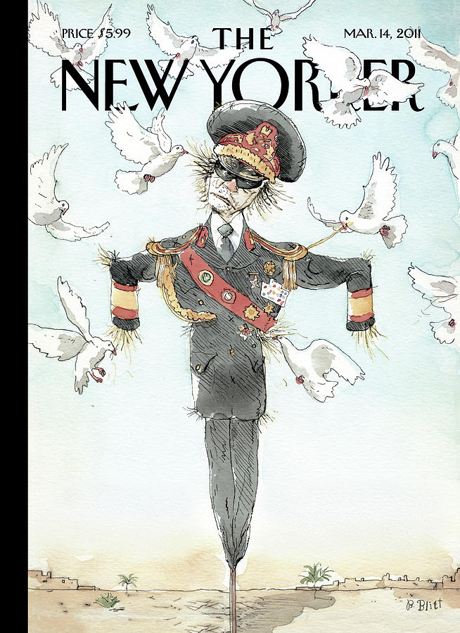 New Yorker March 14th, 2011 Painting by Barry Blitt