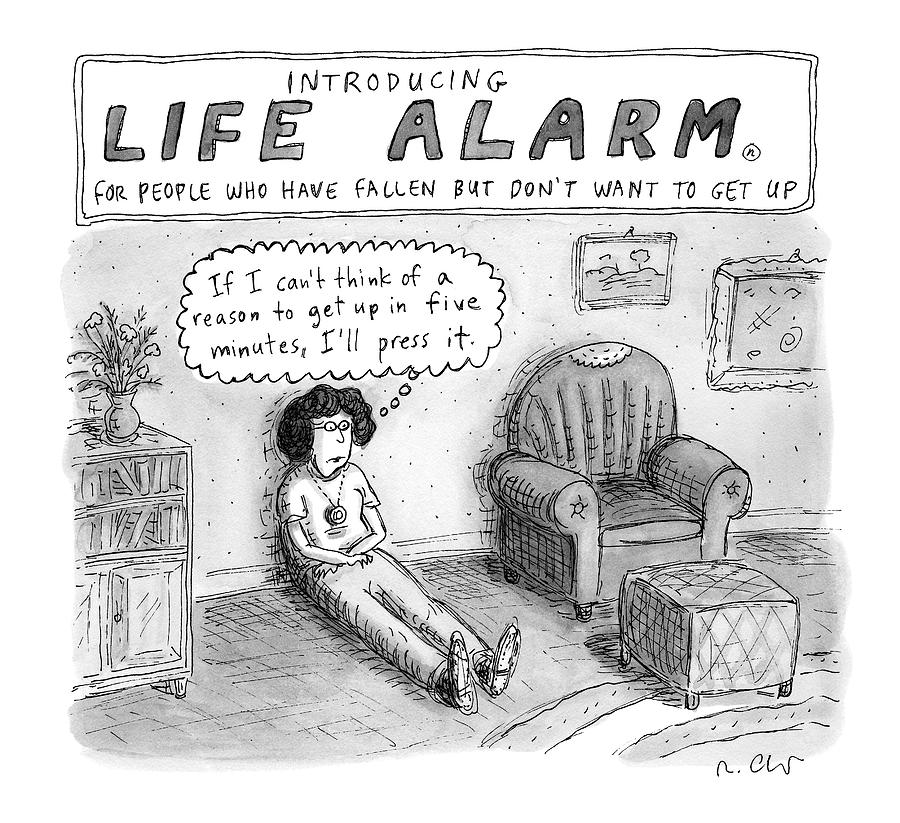 New Yorker October 3rd, 2016 Drawing by Roz Chast