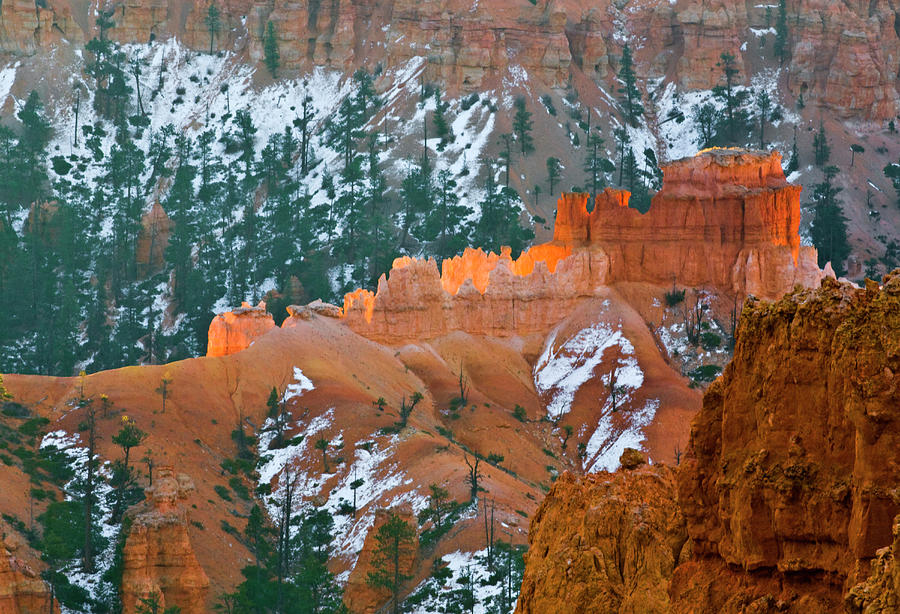 Autumn Photograph - Usa, Utah, Bryce Canyon National Park by Jaynes Gallery