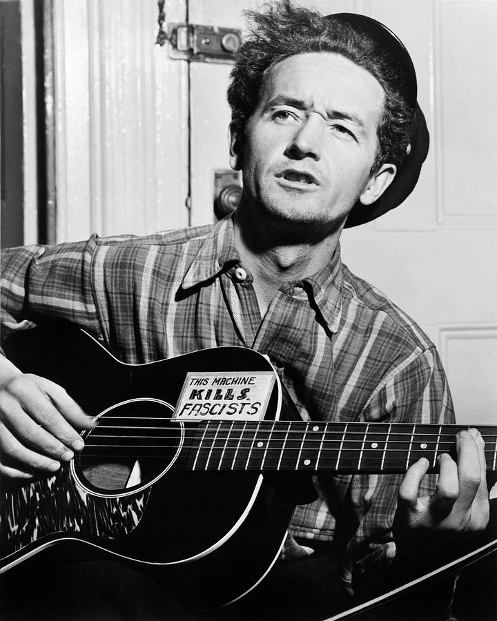 1943 Photograph - Woody Guthrie (1912-1967) by Granger