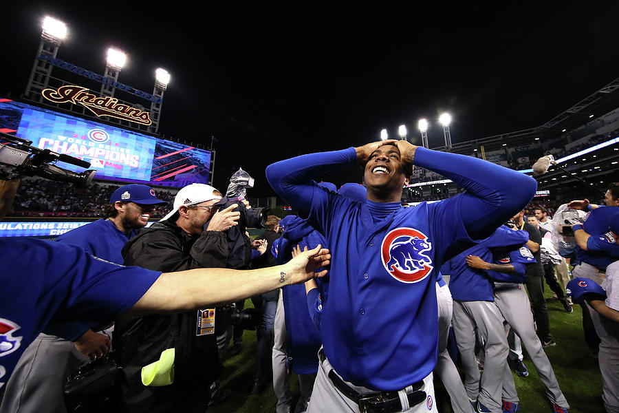 World Series - Chicago Cubs V Cleveland 5 Photograph by Ezra Shaw