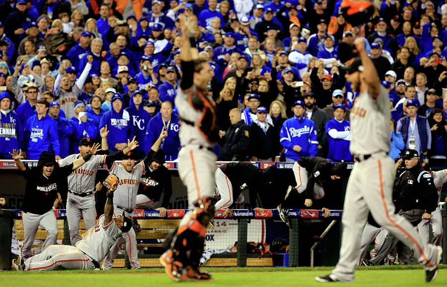 World Series - San Francisco Giants V 5 Photograph by Jamie Squire