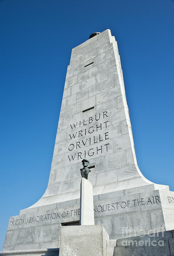 Kill Devil Hills Photograph - Wright Brothers National Memorial by John Greim