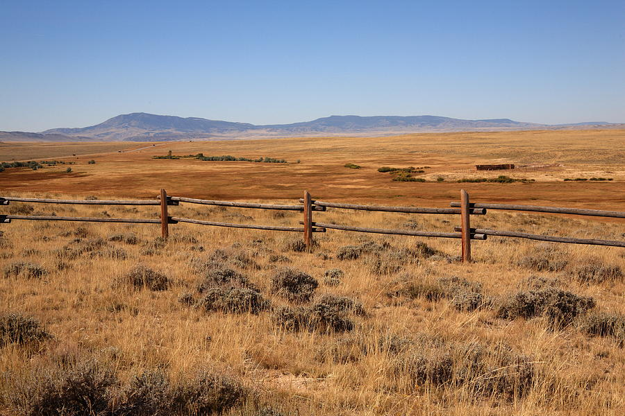 Wyoming Landscape Photograph by Frank Romeo