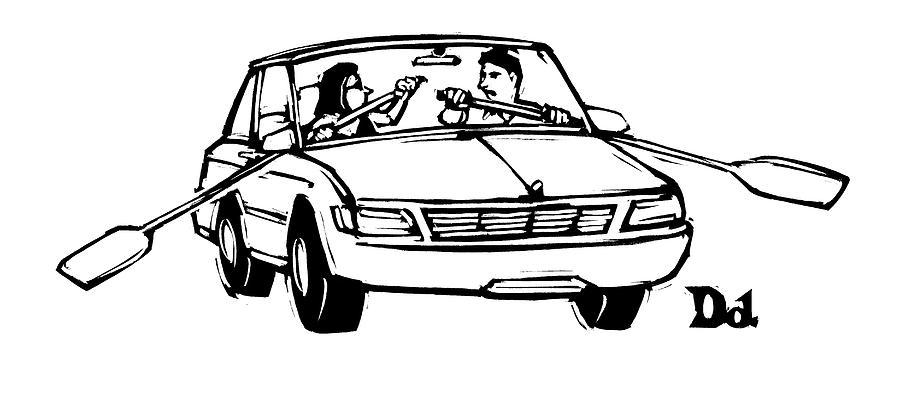 New Yorker September 21st, 2009 Drawing by Drew Dernavich