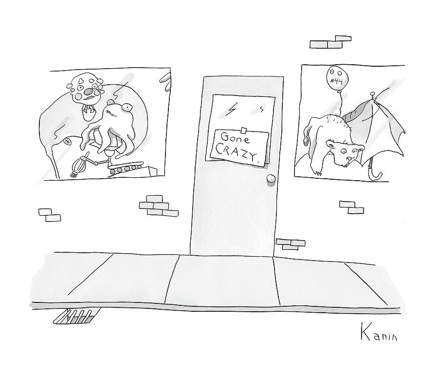 New Yorker April 21st, 2008 Drawing by Zachary Kanin