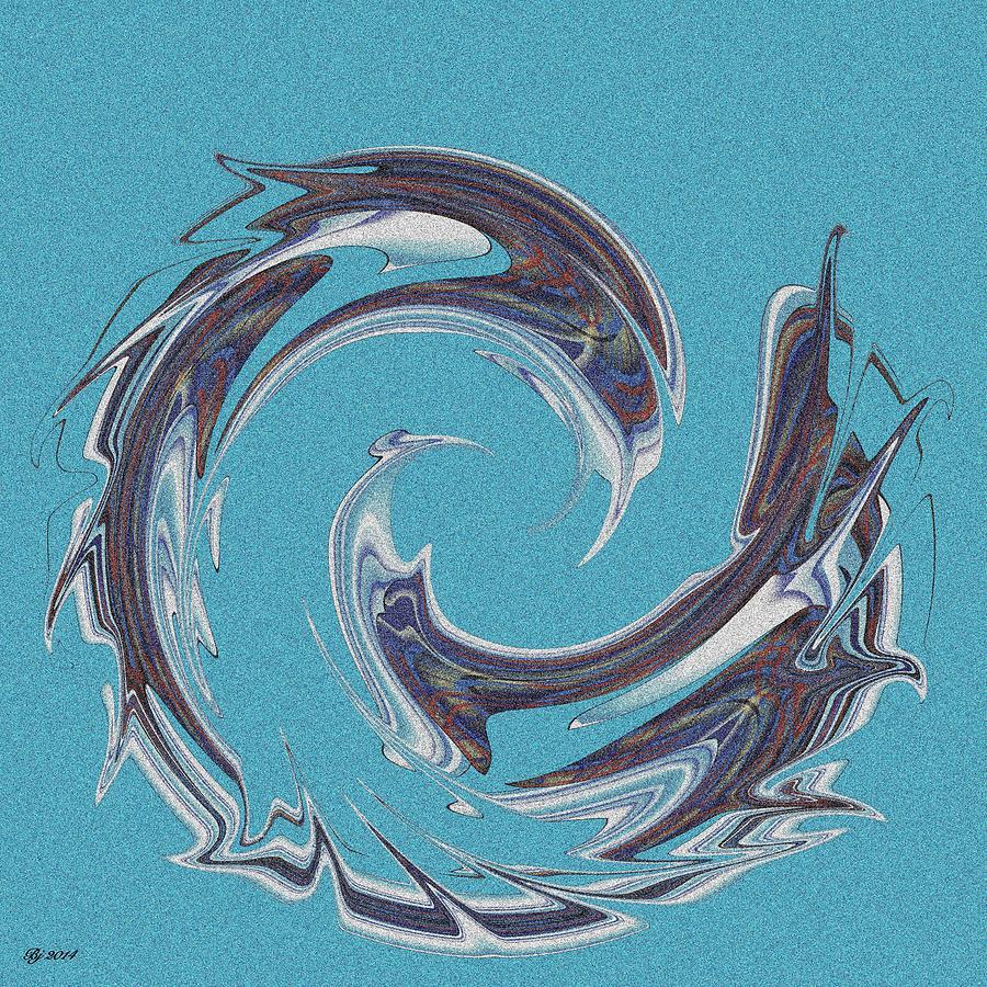 Abstract Digital Art - 500 25 by Brian Johnson