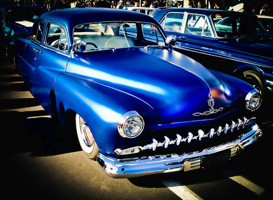 Street Rod Photograph - 52 Ford Mercury by Phil motography Clark