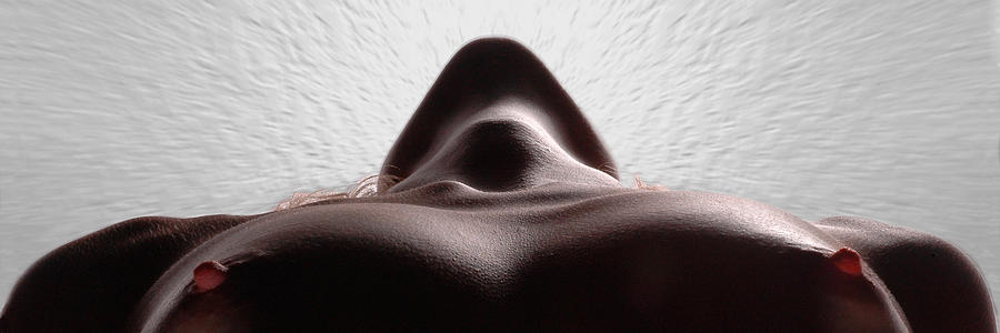 Athletic Woman Photograph - 5338 Radiating Power A Fine Art Nude By Chris Maher 1 To 3 Ratio by Chris Maher