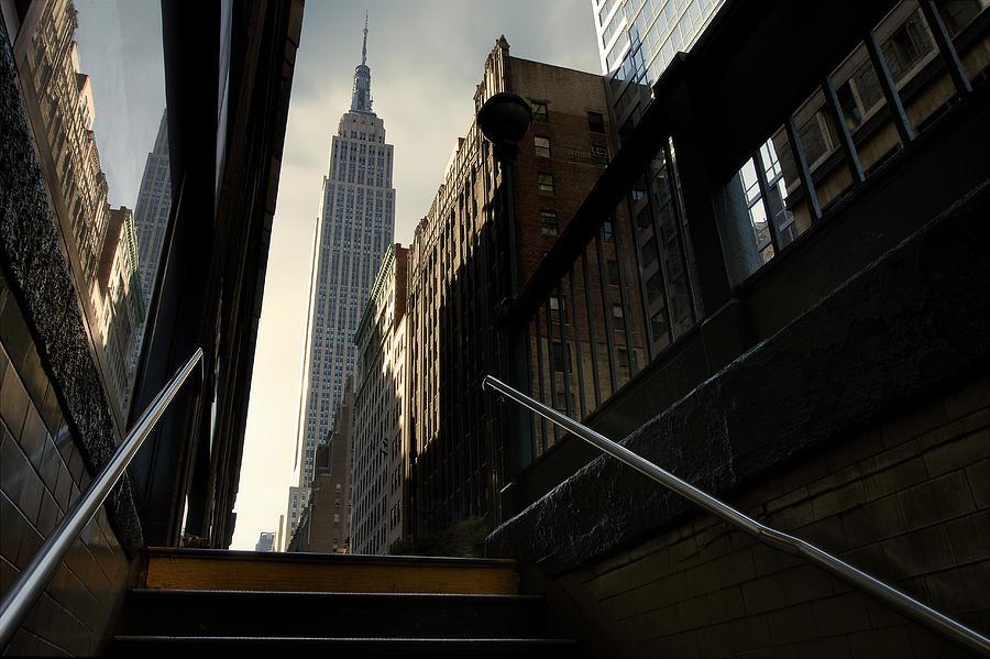 Nyc Photograph - 53th Avenue by Sebastien Del Grosso