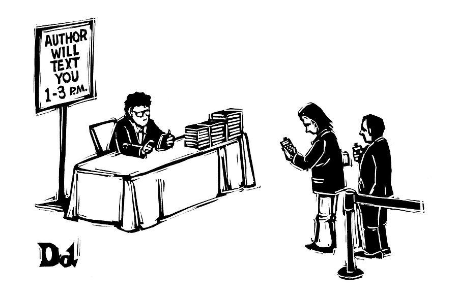 New Yorker December 25th, 2006 Drawing by Drew Dernavich