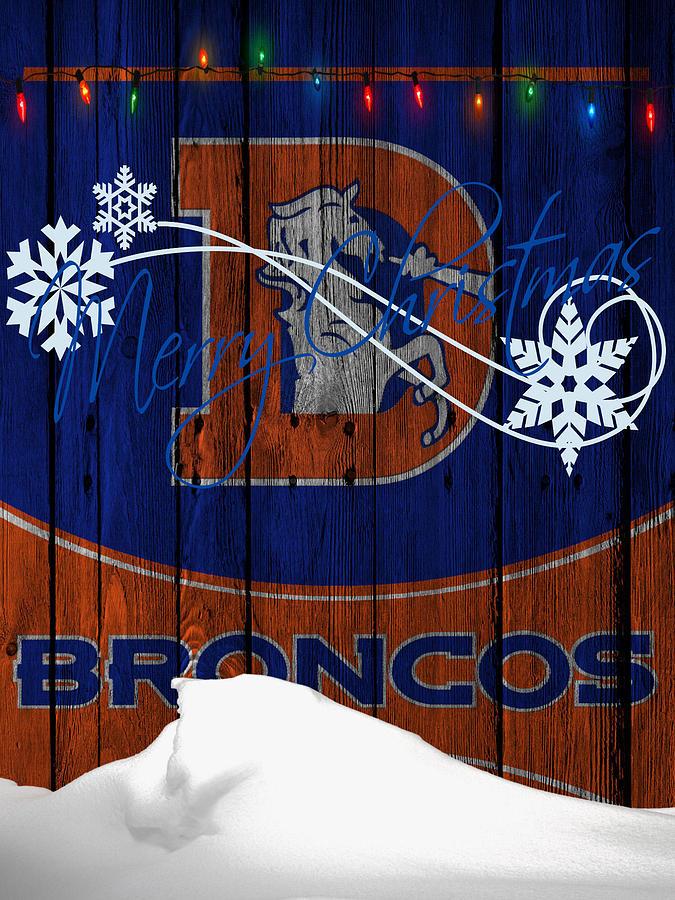Denver Broncos Photograph By Joe Hamilton