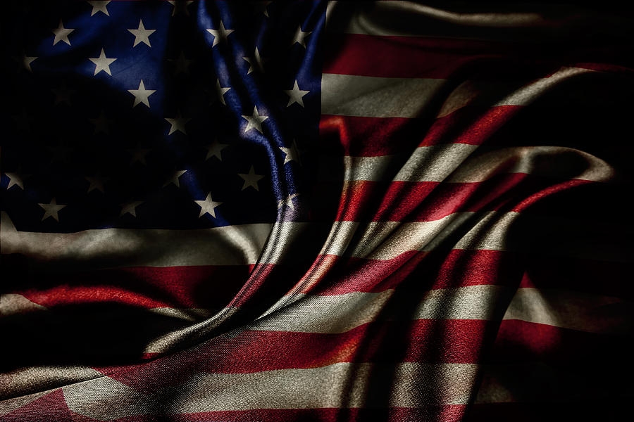 American Flag Photograph - American Flag  by Les Cunliffe