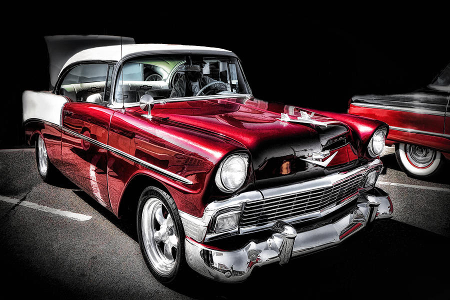 Cars Photograph - 56 Chevy by Ray Still