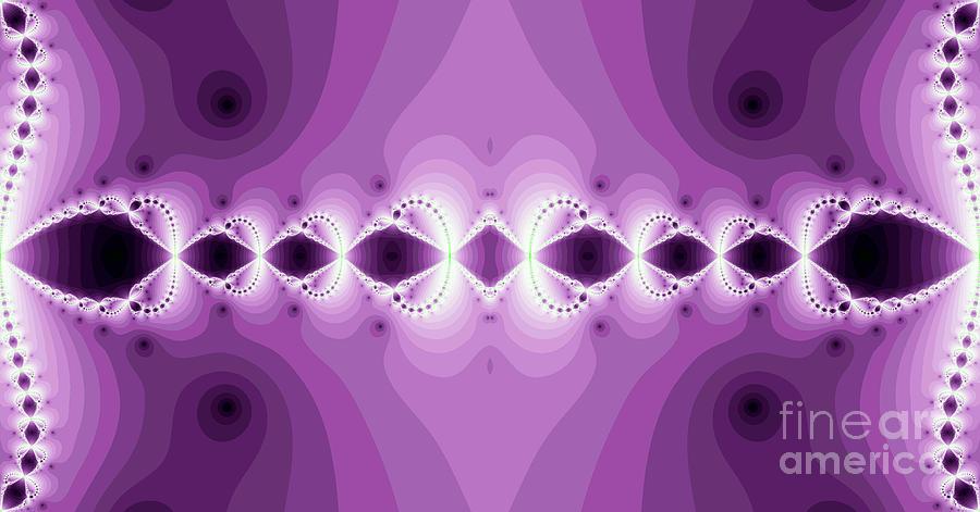 Abstract Digital Art - Fantasy Fractal by Odon Czintos