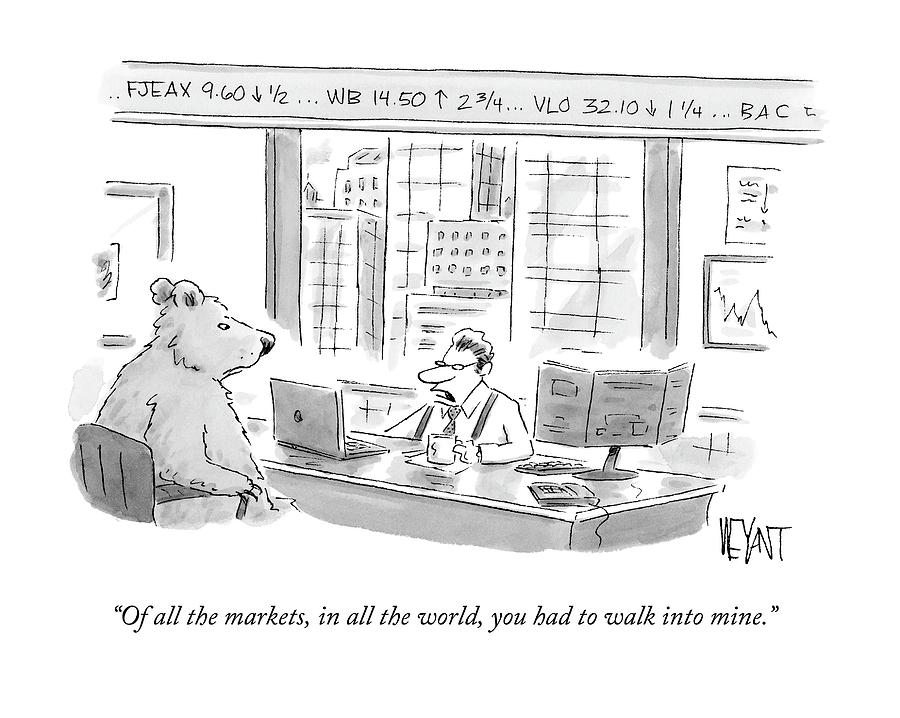 Of All The Markets Drawing by Christopher Weyant