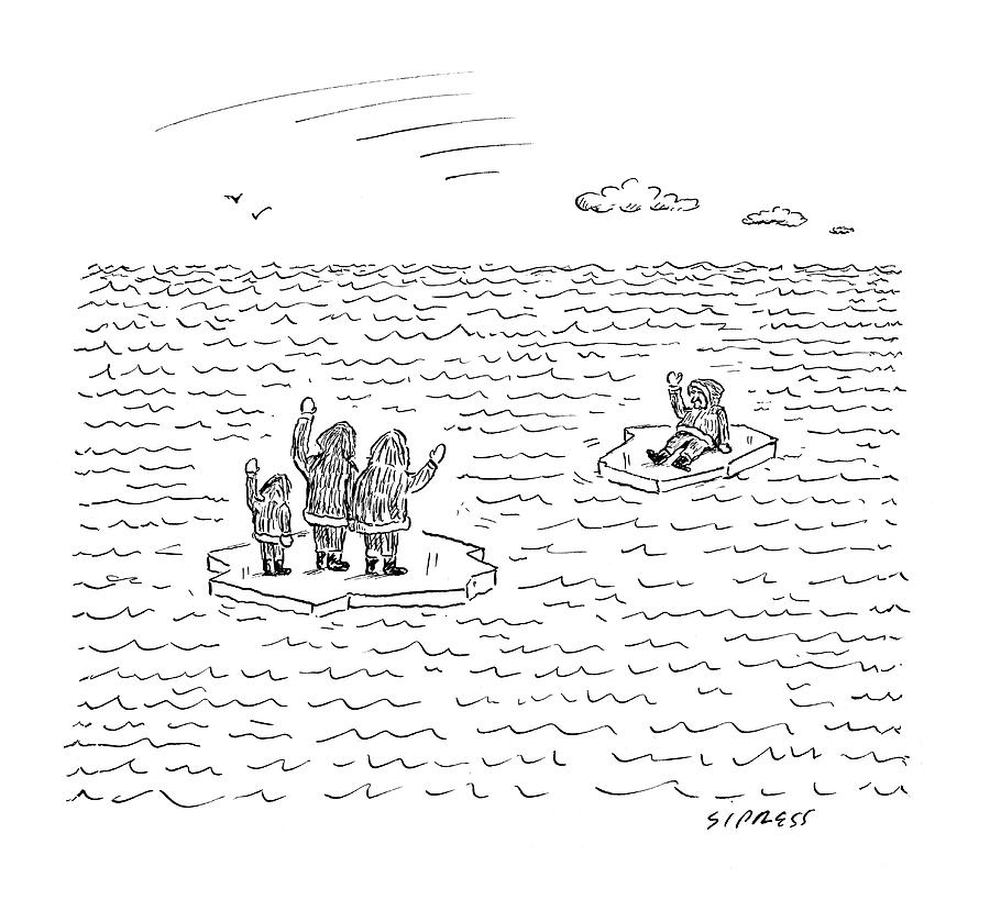 New Yorker July 21st, 2008 Drawing by David Sipress