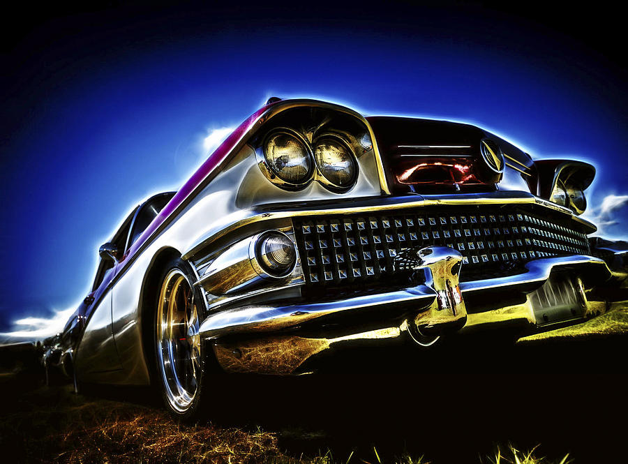 Buick Special Photograph - 58 Buick Special by motography aka Phil Clark