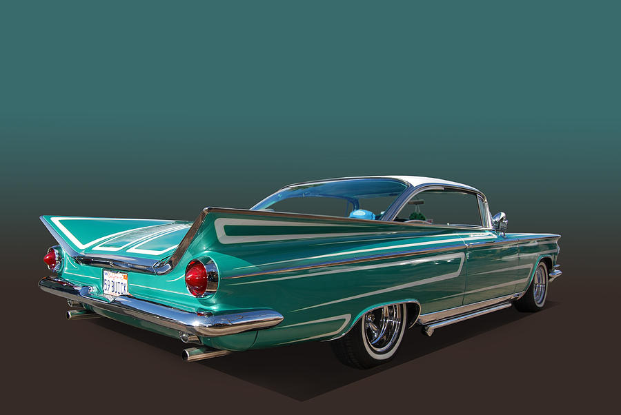59 Buick Photograph By Bill Dutting