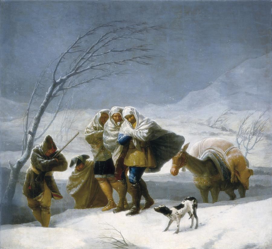 Horizontal Photograph - Goya Y Lucientes, Francisco De by Everett