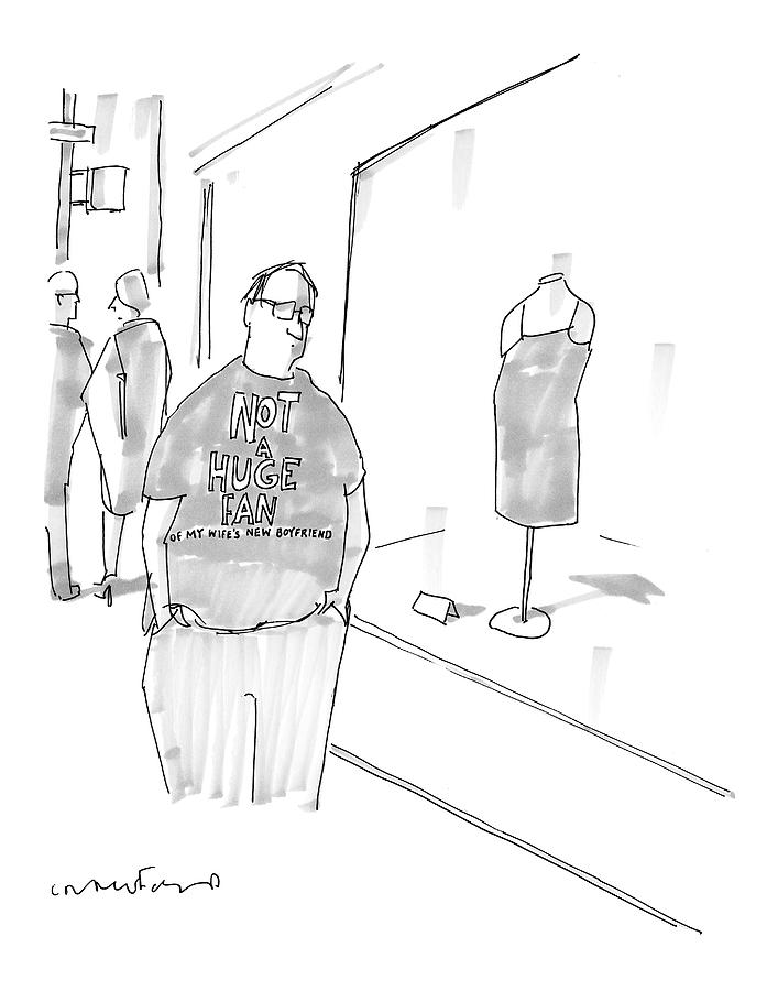 New Yorker March 13th, 2006 Drawing by Michael Crawford