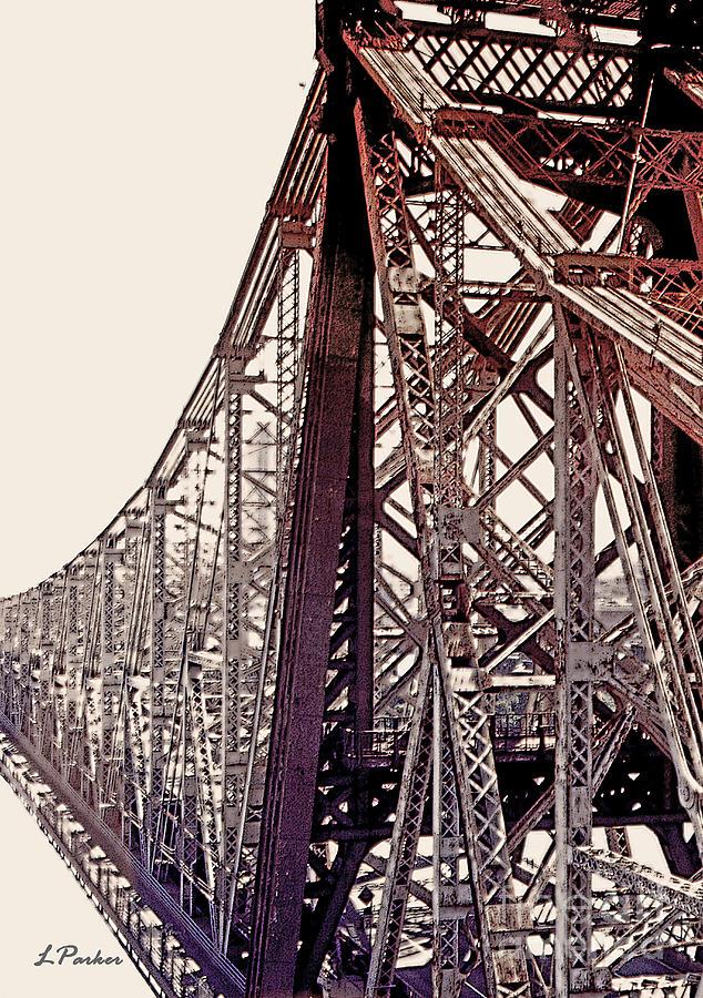 Bridge Photograph - 59th Street Bridge - Nyc by Linda  Parker