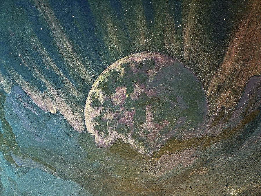 Avatar Painting -  Cosmic Light Series  by Len Sodenkamp
