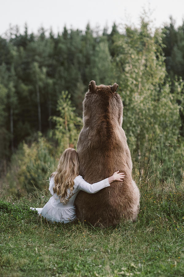 Bear Photograph - * by Olga Barantseva