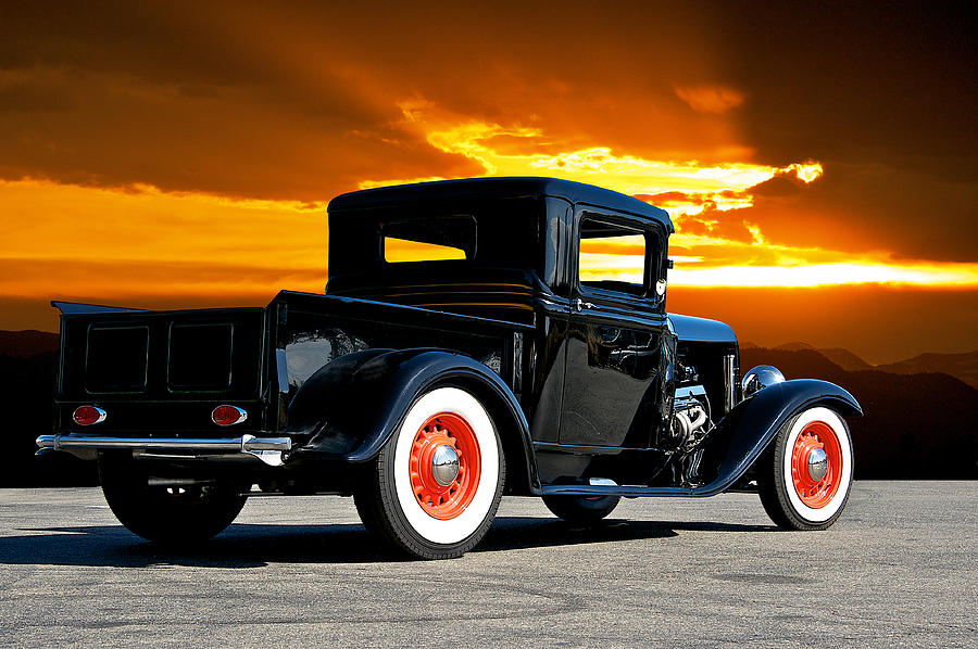 Coupe Photograph - 1932 Ford Pick Up by Dave Koontz