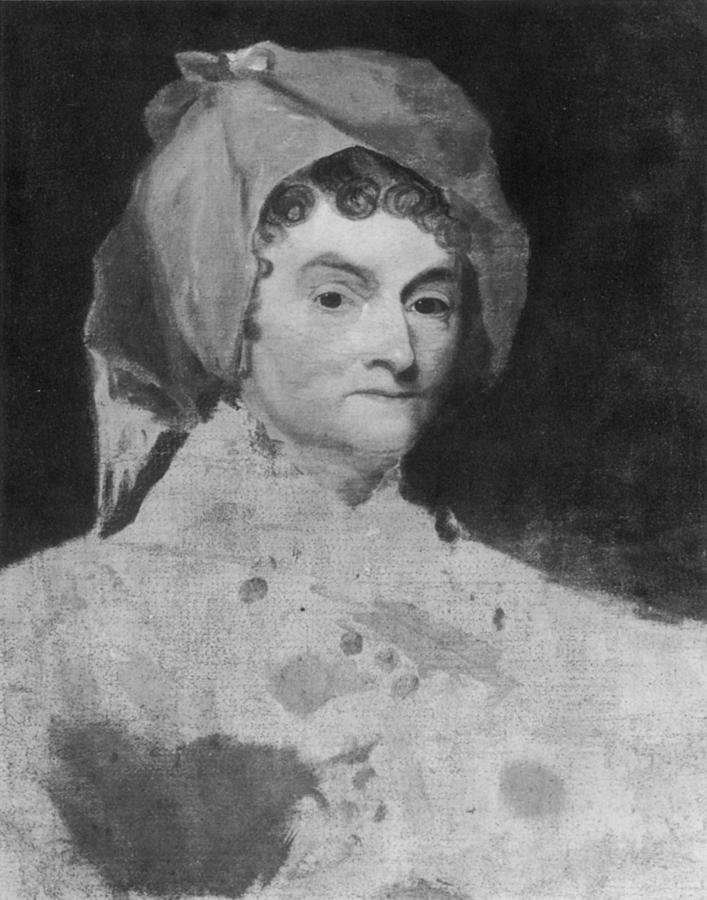 1800 Painting - Abigail Adams (1744-1818) by Granger