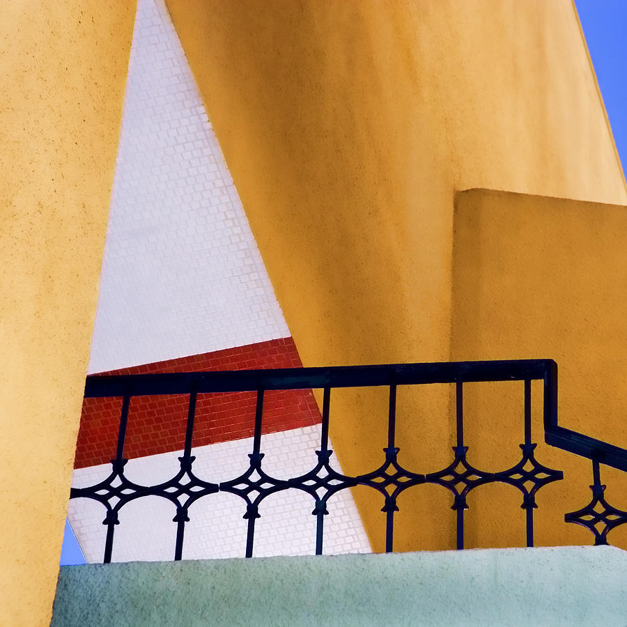 Architecture Photograph - Architectural Detail by Carol Leigh