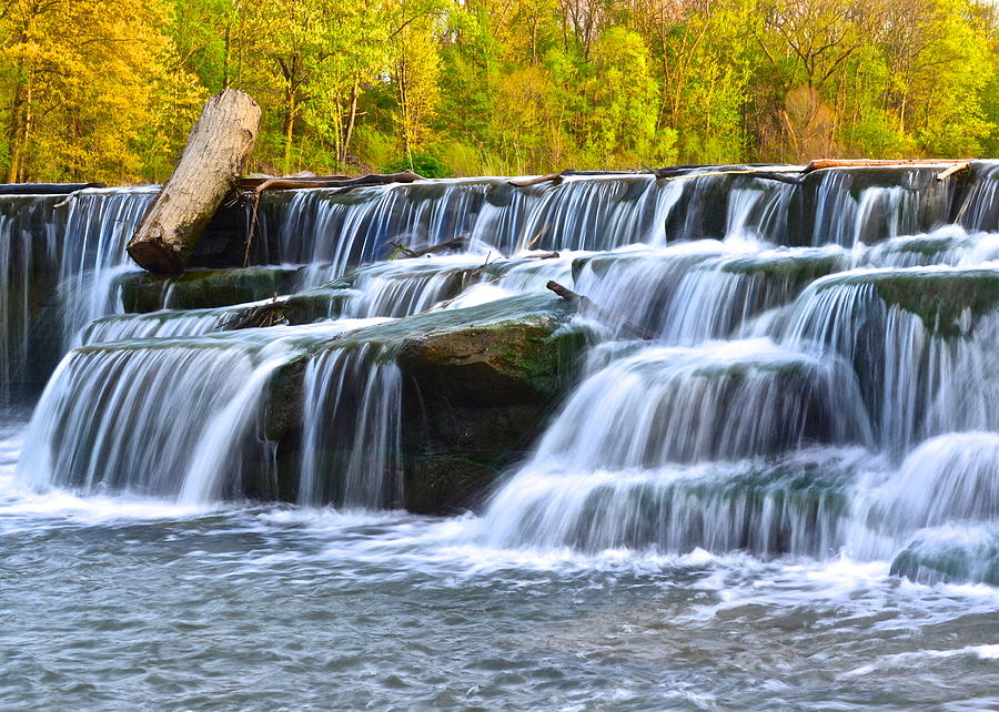 Berea Photograph - Berea Falls by Frozen in Time Fine Art Photography