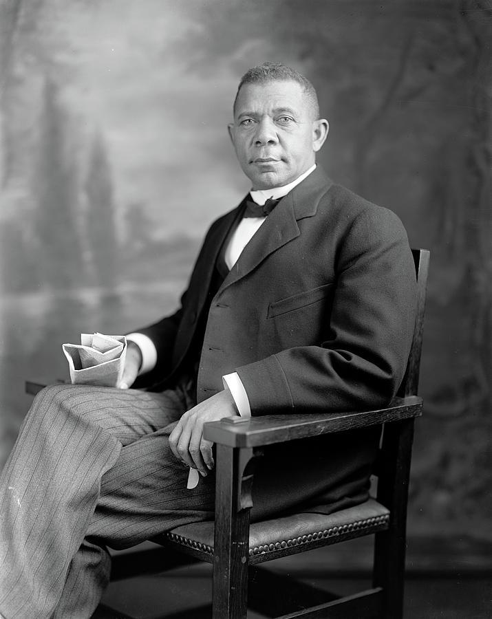 1905 Photograph - Booker T by Granger