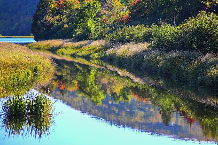 Autumn Photograph - Canada, Nova Scotia, Cape Breton, Cabot by Patrick J. Wall