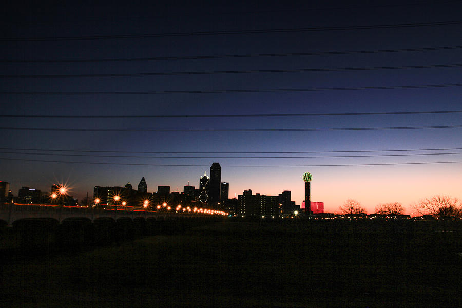 Landscapes Photograph - City Of Dallas by Tinjoe Mbugus