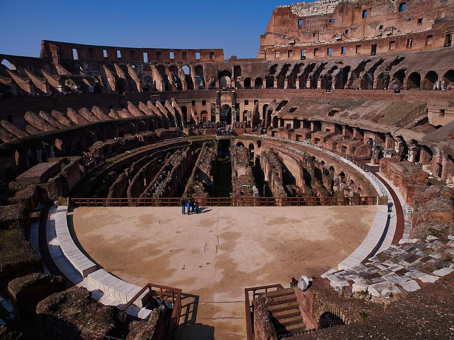 2013 Photograph - Colosseum by Jouko Lehto